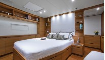 Superyacht Windfall - Master cabin