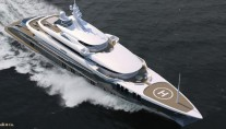 Superyacht ZENITH from above