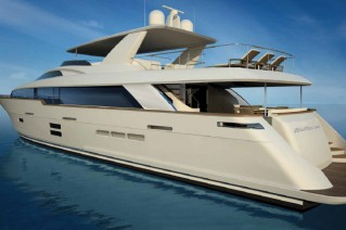 Superyacht-100-Raised-Pilothouse-by-Hatteras-Yachts
