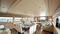 Svitlana Superyacht Dining Room