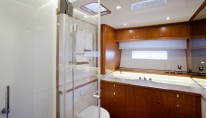 Swan 105 RS Yacht - Bathroom Photo by Nautors Swan and Eva-Stina Kjellman