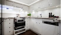 Swan 105 RS Yacht - Galley Photo by Nautors Swan and Eva-Stina Kjellman