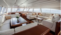 Swan 105 RS Yacht - Saloon Photo by Nautors Swan and Eva-Stina Kjellman