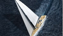 Swan-105-superyacht-running-view-from-above-Credit-Nautors-Swan-2012