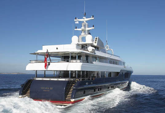 Luxury Yacht Sycara III