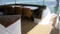 THE WORLD IS NOT ENOUGH - Aft Deck Dining