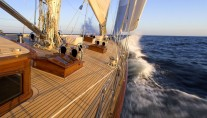 THIS IS US superyacht - toe rail shot