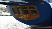 Tamer II Yacht - aft view