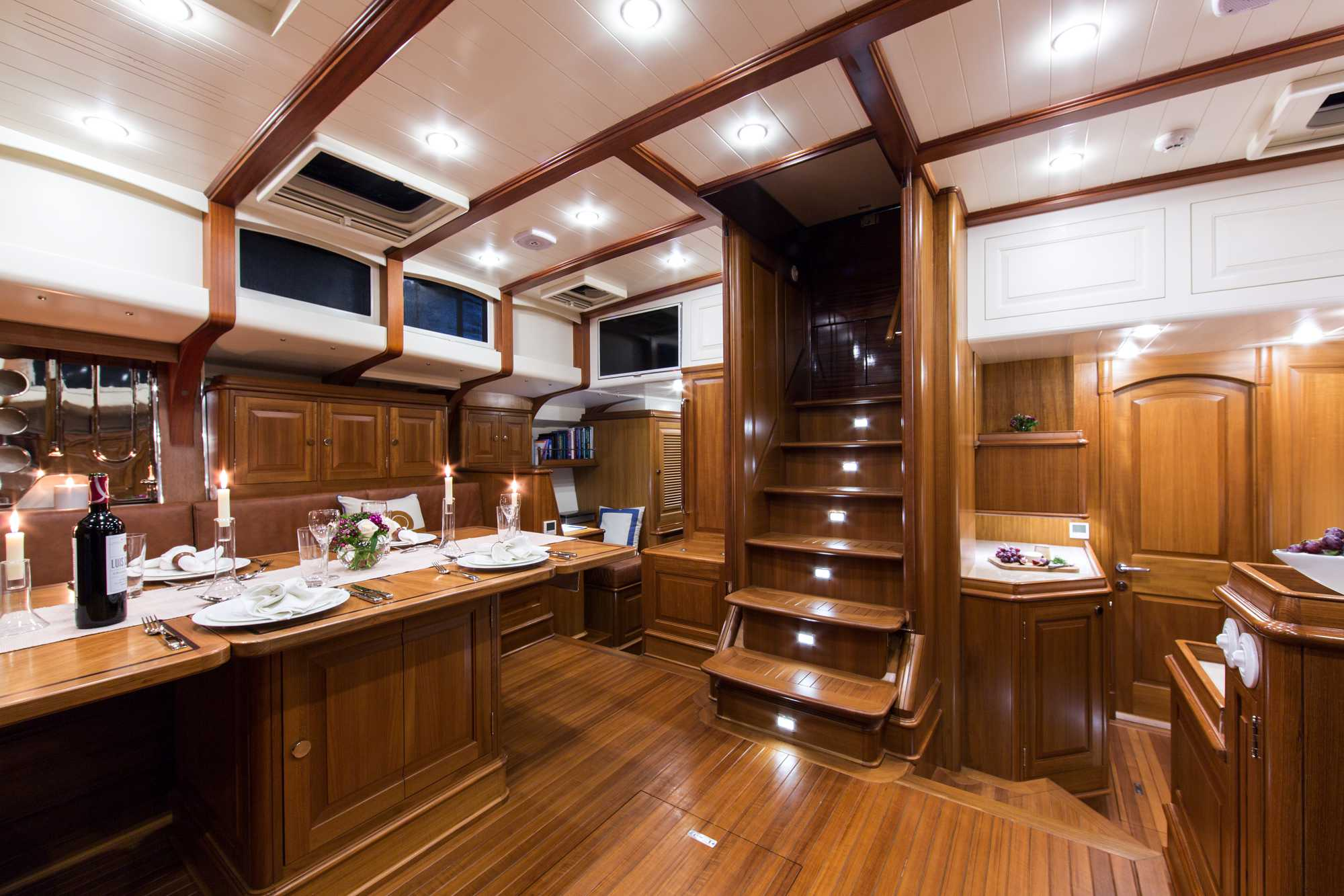 Yacht TEMPUS FUGIT An Arkin Pruva Superyacht