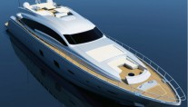 The 33m luxury yacht Pershing 108