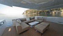 The 35m motor yacht M Ocean Exterior