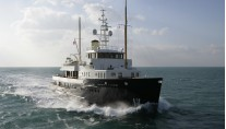 The 42m Superyacht Bystander Credit Stichelbaut JFA
