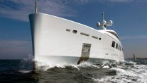 The 65 metre yacht NATALY at her sea trials - phptos by Benetti