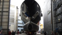 The 70 metre superyacht NUMPTIA by Rossi Navi at her launch