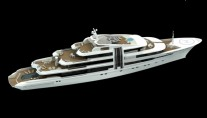 The 85 metre Motor Yacht Project Z Rendering
