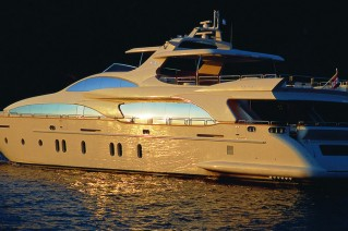 The Grande 116 superyacht Cinque by Azimut Yachts