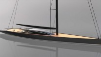 The Sailing yacht AGLAIA Design Concept by Dubois Naval Architects
