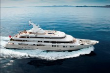 The Superyacht Reborn - Profile underway