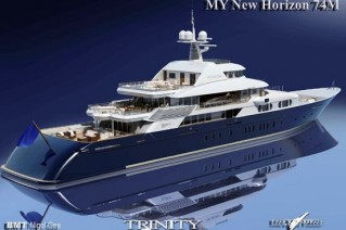 The Trinity Yacht New Horizon