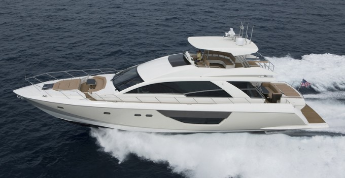 Motor Yacht Alpha Express 76 Flybridge
