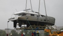 The launch of Conrad 115 Yacht Lunar
