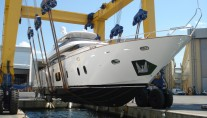 The launch of the luxury yacht Efficient Propulsion