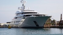 The luxury yacht Pelorus by Lurssen - Image Courtesy of LiveYachting