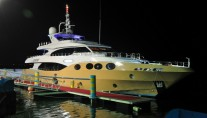 The second Majesty 125 motor yacht Marina Wonder