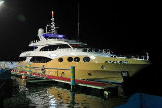 The second Majesty 125 motor yacht Marina Wonder.JPG