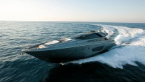 The standard Riva 86 Domino Yacht