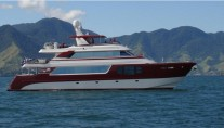 The stunning yacht Red Pearl - Profile