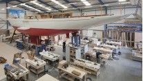 Third-Truly-Classic-90-Yacht-under-construction-at-Claasen