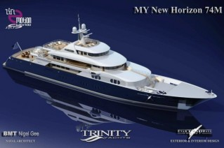 Trinity Superyacht New Horizon