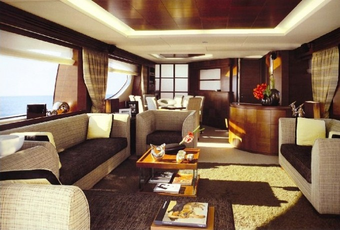 Luxury yacht charter tropicana salon carlo galeazzi for Act one salon salem nh