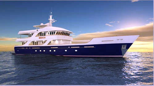 M/Y RUSALINA EXP (ex TRUE NORTH)