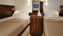 Twin cabin - Oyster 100 superyacht SARAFIN - Copyright Oyster Marine