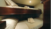 Twin cabin - luxury yacht Emerald Lady
