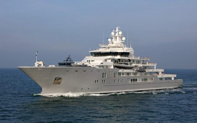 107m Explorer Yacht ULYSSES