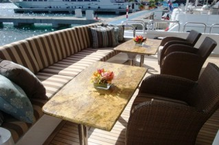 Unforgettable -  Aft deck