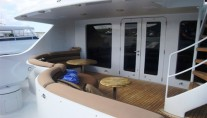 Unforgettable -  Boat deck dining and seating