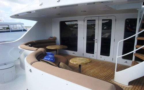 Unforgettable   Boat Deck Dining And Seating