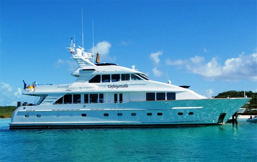 Motor yacht BY GRACE (ex UNFORGETTABLE, CARIB QUEEN)