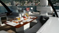 VALQUEST - Alfresco Dining on the Aft Deck
