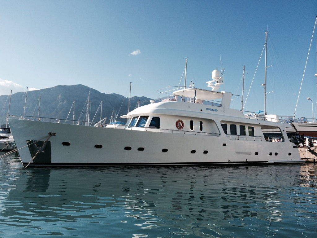 vanguard yacht charter details  semi