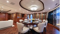 VICA Yacht - Dining - Photo by Thierry Ameller
