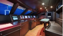 VICA superyacht - Wheelhouse - Photo by Thierry Ameller