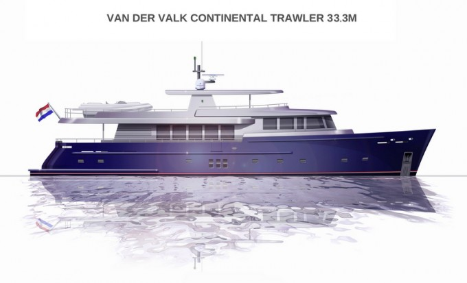 Continental Trawler 33.3 Meter Yacht