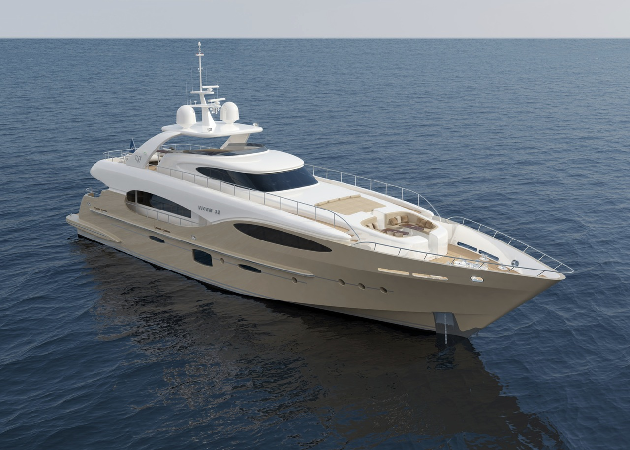 Yacht Bronko I A Vicem Vulcan 32 Metre Rph Superyacht