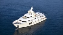View of the Vripack designed explorer yacht E & E available for charter