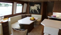 Viking motor yacht MUSTANG SALLY - Formal dining